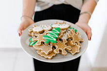 A Christmas Decorated Cookies