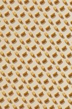 Orange Pills Pattern