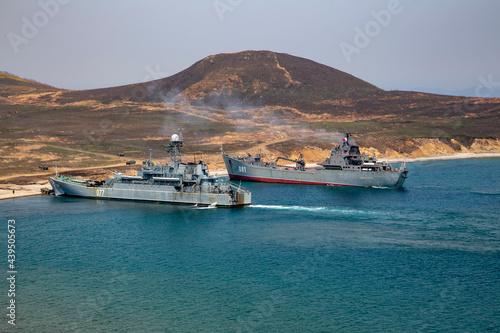Billede på lærred Battleships
