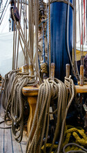 Ropes On The Tall Ship
