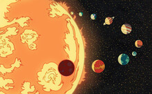 The Sun And Its Planets