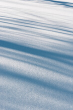 Abstract Textures In Dust Snow