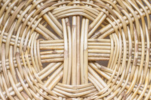 Old Texture Handcraft Of Wood Rattan Weave Seamless Patterns Brown  Background