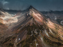 Autumn Mountains In Kamchatka