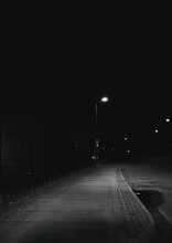 Night Traffic On The Street