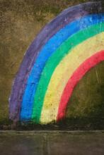 Rainbow On A Wall