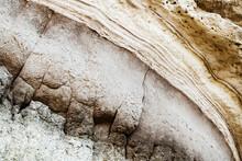 Abstract Coastal Stone Wall Texture