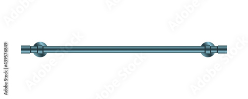Obraz na płótnie Vector illustration heated towel rail isolated on white background