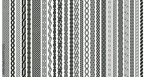 Fotografiet Celtic braids patterns