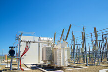 Electrical Substation View