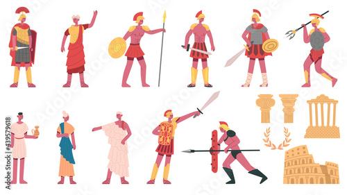 Fotografiet Ancient roman empire