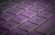 computer laptop notebook keyboard pinkish hue
