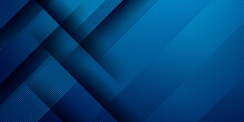 Simple Minimal 3d Dark Blue Abstract Business Presentation Background With Light Stripes And Overlap Layers. Abstract Gemoetric Pattern Luxury Dark Blue Background