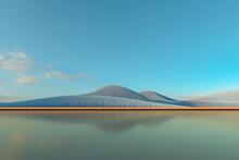 Render Of A Minimal Landscape