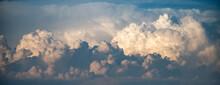 Cumulus White Clouds