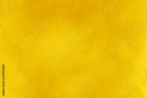 Fotografie, Obraz Background graphics. Water Color material. Mustard yellow.