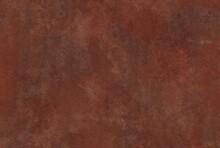 Vintage Grunge Red Wall, Rusty Metal Background