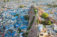 Aerial View Of Blue City Of Jodhpur