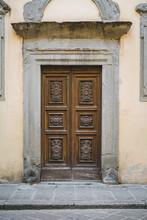 Old Door In Italy
