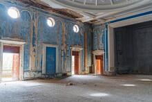 Abandoned Cinema Building In Abkhazia