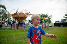 Boy At A County Fair