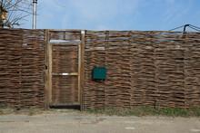 Wooden Fence With Door