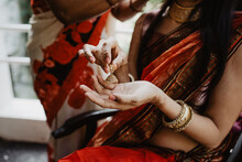 Preparation To Indian Style Wedding Ceremony