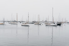 Boats On A Quiet Ocean
