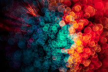 Explosion Of Colour And Light