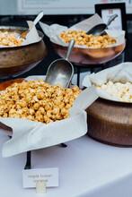 Display Popcorn At A Movie Night Event