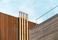 Modern Industrial Architecture Detail