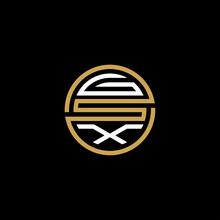 GSX Creative Letter Logo Design Vector Icon