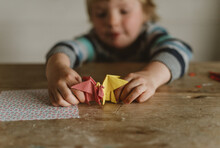 Origami Dragon Battle