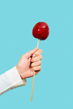 Man With A Candy Apple