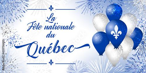 Fototapeta Quebec's National Holiday