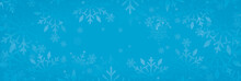 Christmas Background With Snow, Snowflake Background
