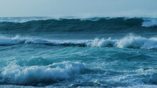 Ocean Is Shaking. Any Surfer Would Not Miss A Wave Like This