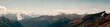 Leinwandbild Motiv mountains in the national park Hohe Tauern in Alps in Austria. Backgrounds