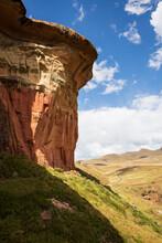 Mushroom Rock In Golden Gate Highlands National Park, Free State, South Africa