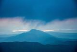 Fototapeta Rainbow - góry