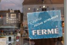 Boutique, Magasin Fermé
