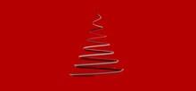Weihnachten Weihnachtsbaum Modern Illustration 3d