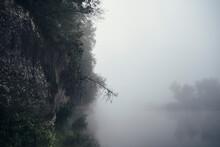 Haunted Misty Lake
