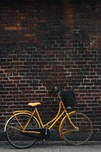Parked Yellow Bike