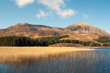 Loch Cill Criosd On The Isle Of Skye In Late Autumn Guise