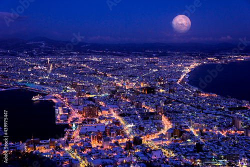 Fotografiet 函館山より100万ドルの夜景