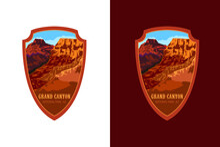 National Park Vector Emblem