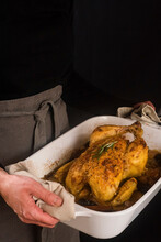 Baked Chicken With Rosemary