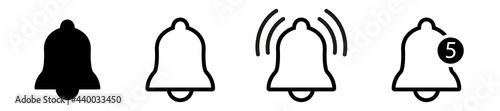 Fotografiet Notification bell icon