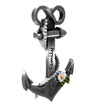 Heavy Iron Anchor In Seafaring 3D Rendering